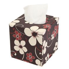 Household Tissue Box Home Toilet Paper Napkin Holder Case With Pouch bathroom FA