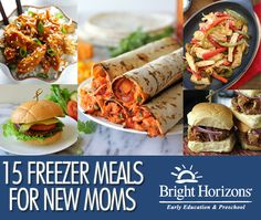 15 Freezer Meals for