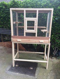 Custom Made Indoor Mini Aviaries – Aviary Accessories Diy Bird Cage, Bird Cages, Pigeon Cage, Parrot Pet, Bird House Kits, Bird Aviary, How To Attract Birds, Nesting Boxes, Backyard Birds