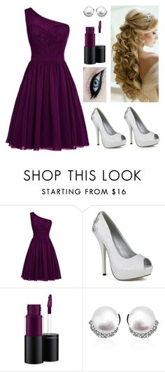 """""""Untitled #230"""" by bdsmithlnha ❤ liked on Polyvore featuring MAC Cosmetics"""