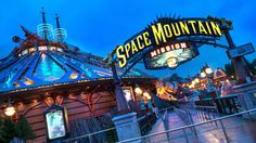 Space Mountain Mission 2 | Disneyland Paris Attracties