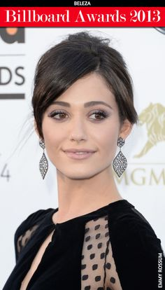 Emmy Rossum - Hair and Makeup