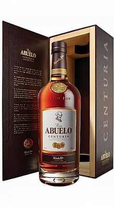 Ron Abuelo Centuria - Best rum I've ever had - sipping only. Don't you dare mix this with ANYTHING. May be the best rum ever produced, but then. Tequila, Vodka, Whisky, Alcohol Bottles, Liquor Bottles, Drinks Alcohol, Wine Drinks, Alcoholic Drinks, Cocktails