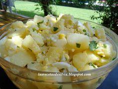 Las recetas de Silvia: El clásico argentino, ensalada de papas con perejil para acompañar asados
