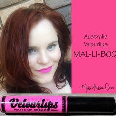 Australis Velourlips in MAL-LI-BOO from www.MissAussieDiva.com