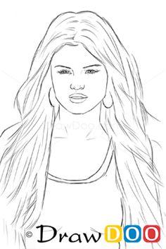 Selena gomez selena gomez and dessins on pinterest - Selena gomez dessin ...