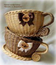 Евгения Коцур Плетение Бумажная лоза - Выполненные работы | OK.RU