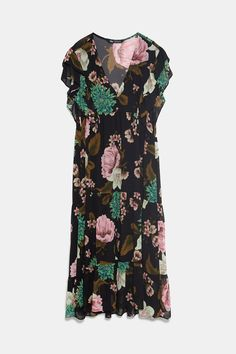 vestido de festa zara renda colorida tam.05