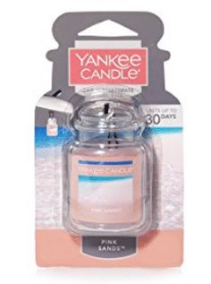 Make your car smell of a lovely island escape with this Yankee Candle Pink Sands air freshener, featuring a brilliant blend of sweet florals, citrus and spicy vanilla. Yankee Candle Pink Sands, Yankee Candle Car, Best Car Air Freshener, Car Smell, Pink Candles, Home Scents, Cleaning Wipes, Perfume Bottles, Gel Color
