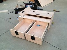 Rear Cargo Drawer Build - Page 15 - Toyota FJ Cruiser Forum