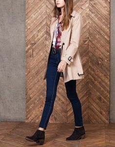 Trench - BASICS - WOMAN | Stradivarius Hungary
