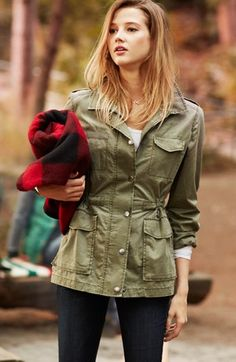 Rubbish® Army Jacket (Juniors) | Nordstrom. This is pretty close to the Top Shop jacket I fell in love with.