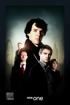 Sherlock Series Poster by crqsf.