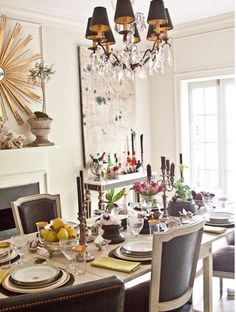 Pawleys Island Posh: Dining Rooms: My Current Favorites Thanksgiving Table Design, Interior, Dining, Dining Room Paint, Custom Furniture, Southern Living, Dining Room Inspiration, Dream Living Rooms, Neutral Dining Room