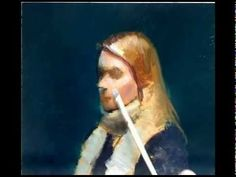 ▶ Portrait painting demo - YouTube