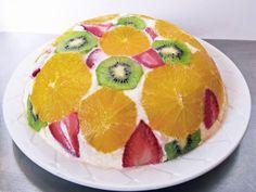 Фруктовый торт без выпечки — это наслаждение вкусом!!! К тому же выглядит он просто великолепно!!! От одного вида слюнки текут. И при каждом новом приготовлении этого торта, вы...
