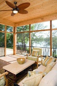 Screen Porch - contemporary - porch - minneapolis - Stonewood, LLC
