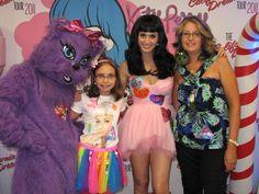 Natalie & me meeting Katy 8/21/11, Chicago. She was a fairy princess! #KP3D
