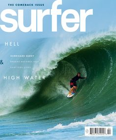 Check out our February edition, on newsstands now. #surfer #surferphotos