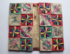 Inside a Chinese Thread Book, Zhen Xian Bao post – Playful Bookbinding and Paper Works Folded Book Art, Book Folding, Paper Folding, Book Club Food, Accordion Book, Paper Architecture, Book Sculpture, Paper Sculptures, Embroidery Supplies