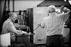 Glass artisans in Murano, Venezia, Italia