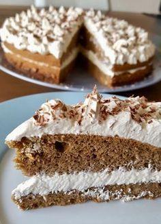 Koolhydraatarme mokkataart – Sport Foodblog Healthy Pie Recipes, Healthy Cake, Low Carb Recipes, Sweet Recipes, Baking Recipes, Cake Recipes, Food Cakes, Cupcake Cakes, I Love Food
