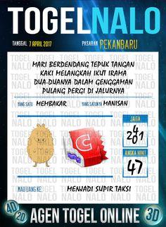 Angka Mimpi 5D Togel Wap Online TogelNalo Pekanbaru 7 April 2017