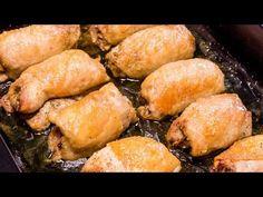 Secretul este în umplutură! Romanian Food, Pretzel Bites, How To Cook Chicken, Food Videos, Tapas, Buffet, Chicken Recipes, Good Food, Food And Drink