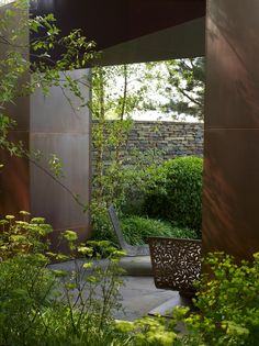 Tom Stuart-Smith's Laurent Perrier garden in the Chelsea Flower Show Contemporary Garden Design, Contemporary Landscape, Garden Show, Dream Garden, Landscape Architecture, Landscape Design, Tom Stuart Smith, Design Jardin, Chelsea Flower Show