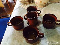 """RITKA Goebel """"TOBAGO"""" kávés készlet Ale, Retro, Tableware, Dinnerware, Dishes, Ales, Rustic, Mid Century"""