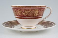 Royal Doulton - Buckingham Red - H4971 - Chinasearch is Europe's largest retail specialist in discontinued china.