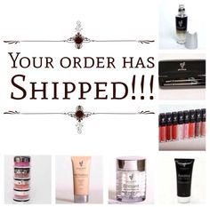 Thanks for your orders friends and family!!! Your orders have shipped!!! If you forgot something it want to order another product you can go back to my website to order. Thanks again! https://www.youniqueproducts.com/SherriEgeland