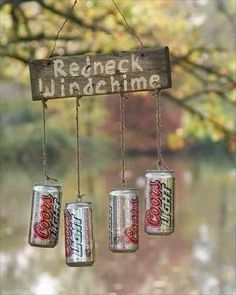 LOL.... I like the idea but I think I'll use bottles of Bud instead. ;-)
