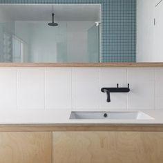 "Dan Gayfer Design on Instagram: ""Bathroom at #highhouse in Fitzroy North, we're…"