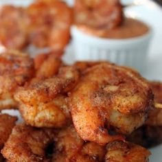 Louisiana Cajun Shrimp (add Chipotle Mayo - recipe in Sauces)
