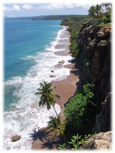 Costa Rican coastline.  Costa Rica is an ideal destination for those interested in eco-tourism.  Contact: ASPEN CREEK TRAVEL karen@aspencreektravel.com