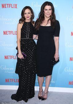 Alexis Bledel joins Lauren Graham for premiere of Netflix reboot