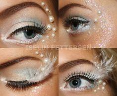 white eye makeup fantasy - Google zoeken