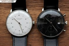 worn&wound | Hands-on with Max Bill Watches by Junghans - worn&wound