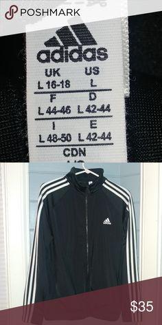 16b4c3a0ee8a Mens Adidas track jacket Men s L Adidas jacket adidas Jackets   Coats