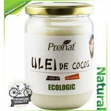 Ulei (unt) de Cocos BIO Multiple Intrebuintari 500 ml Cel mai bun pret! Coconut Oil, Jar, Health, Food, Health Care, Essen, Meals, Yemek, Jars
