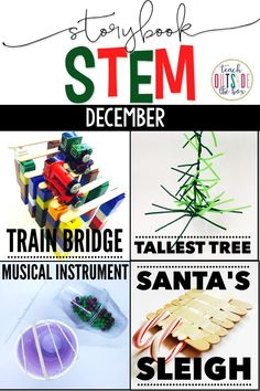 December/Christmas Holiday Storybook STEM provides weekly all-in-one units to cover essential skills in comprehension, vocabulary, grammar, math, science,