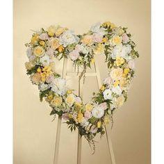 81 best sympathy flowers images on pinterest flower arrangements open heart elegant flowers white flowers love flowers yellow roses funeral ideas mightylinksfo