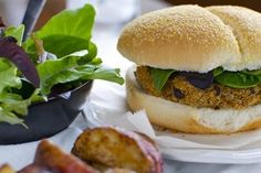4th July Veggie Burger
