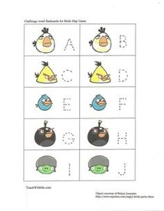 """FREE upper and lowercase traceable letter cards.  Use as a worksheet, play Memory Match games, play """"I Have; Who Has?"""" Make into an Itty Bitty booklet, use as flashcards."""