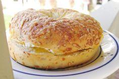 Five-Ingredient Feast: The Amazing Breakfast Sandwich Five Ingredients, Dorm Life, College Life, Bagel, Sandwiches, Bread, Breakfast, Amazing, Food
