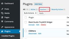 How to manually disable WordPress plugins