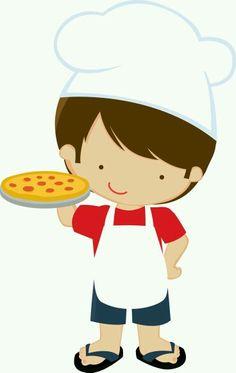 Minus niño pizzero