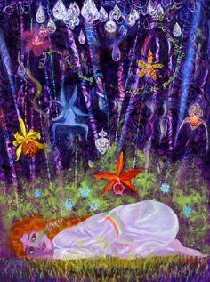 """Saatchi Online Artist Anne Cameron Cutri; Painting, """"Annunciation"""" #art"""