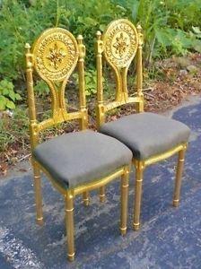 PAIR-of-FINE-Louis-XVI-style-gilt-chairs